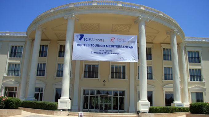 ICF AIRPORT HOTELS'DE İMZALAR ATILDI