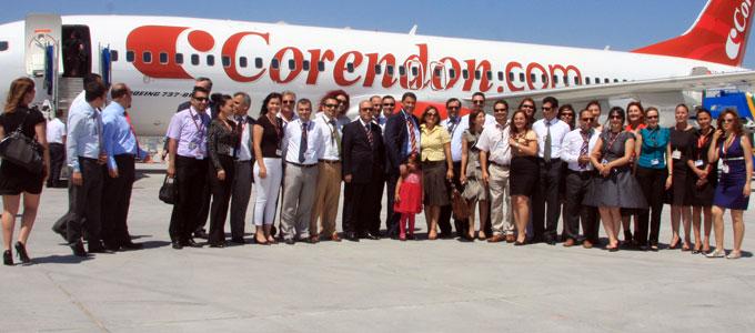 CORENDON'UN YENİ B737-800'LERİ