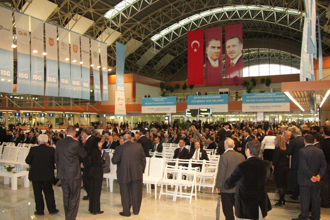 Sabiha Gökçen Havalimanı Yeni Terminal Açılışı