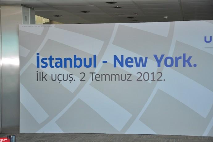 United 904 inaugural to Istanbul