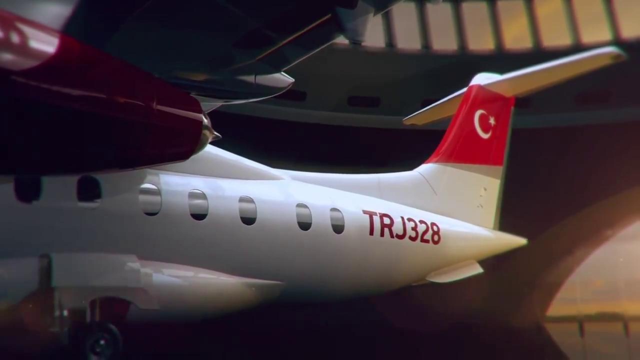 İlk yerli uçaklar TJR628 ve TRJ328 tanıtıldı