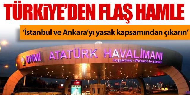 Türkiye'den flaş hamle!