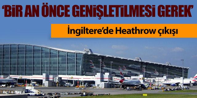 İngiltere'de Heathrow çıkışı