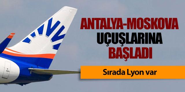 Sunexpress Antalya-Moskova uçuşlarına başladı