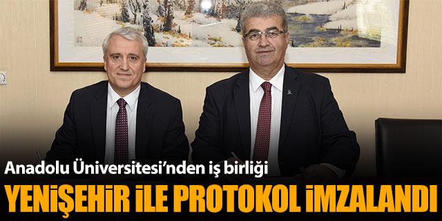 Anadolu Üniversitesi Yenişehir Havalimanı ile protokol imzaladı