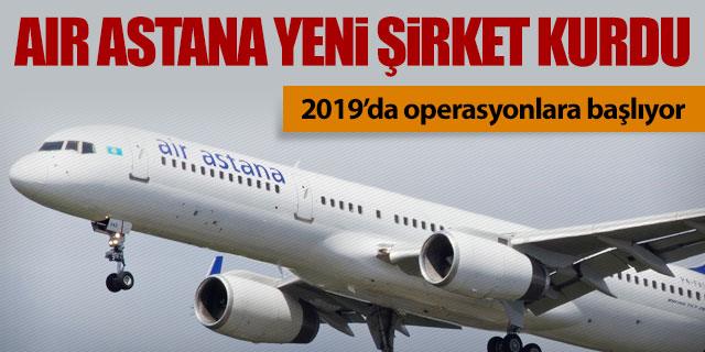 Air Astana yeni şirket kurdu