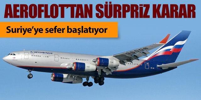 Aeroflot'tan sürpriz karar!