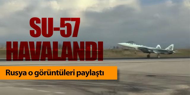 SU-57 havalandı