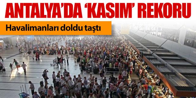 Antalya'da Kasım rekoru