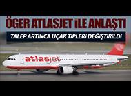 SEFERLERİ ARTIK ATLASJET YAPACAK