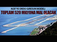RİZE-ARTVİN'E ORDU-GİRESUN MODELİ