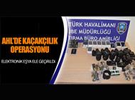 ATATÜRK HAVALİMANI'NDA KAÇAKÇILIK OPERASYONU