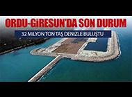 ORDU-GİRESUN'DA SON DURUM