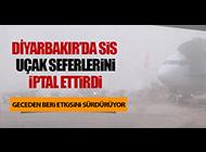 DİYARBAKIR'A SİS ENGELİ