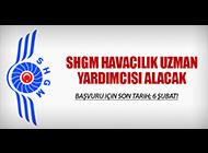 SHGM HAVACILIK UZMAN YARDIMCISI ARIYOR