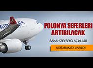 THY'NİN POLONYA SEFERLERİ ARTIRILACAK
