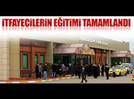 ZONGULDAK HAVALİMANI'NDA EĞİTİMLER TAMAMLANDI