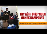 THY AĞRI OFİSİ'NDEN ÖRNEK DAVRANIŞ