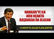 HAKKARİ'Yİ HAVALİMANI HEYECANI SARDI