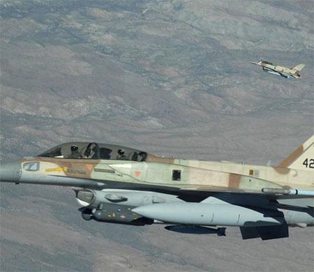 Suriye İsrail uçağını düşürdü