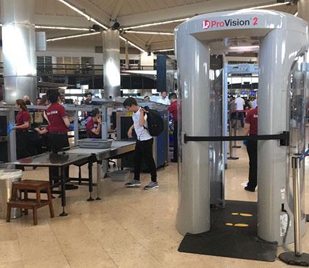 Vücut tarayıcılar Atatürk Havalimanı'nda kullanılmaya başladı