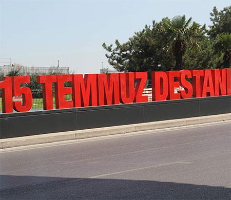 15 Temmuz'daki destan Atatürk Havalimanı'na yazıldı