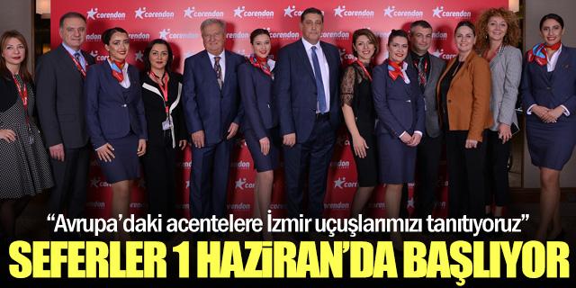 Corendon İzmir için geri sayıma başladı