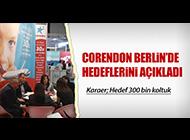 CORENDON HEDEFLERİ AÇIKLADI
