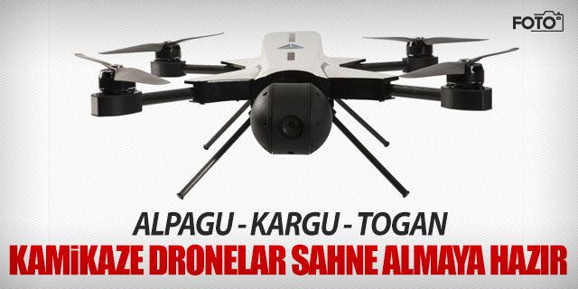 'Kamikaze Drone'lar sahneye çıkmaya hazırlanıyor