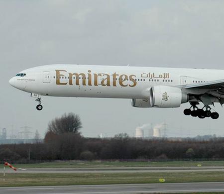 Emirates uçağı Trabzon'a indi