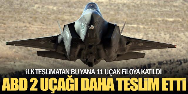 ABD iki F-35'i teslim etti