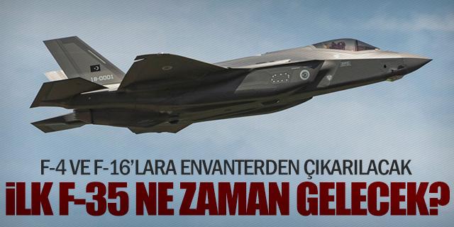 F-35'ler ne zaman Türkiye'ye gelecek?