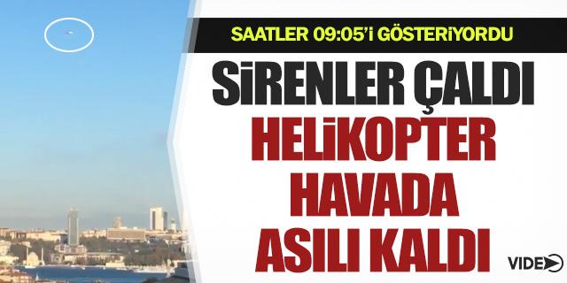 Helikopterden Atatürk'e havada saygı duruşu!