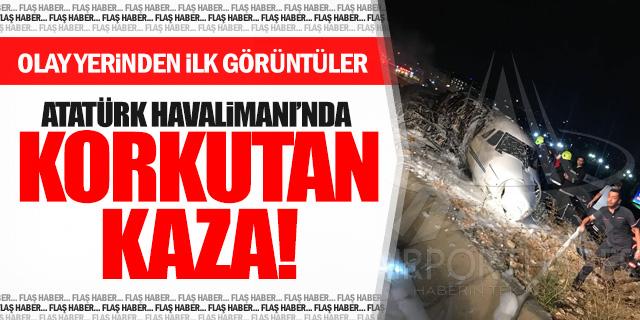 Atatürk Havalimanı'nda yürekleri ağızlara getiren olay