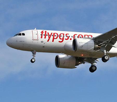 Pegasus yeni uçağını filosuna kattı