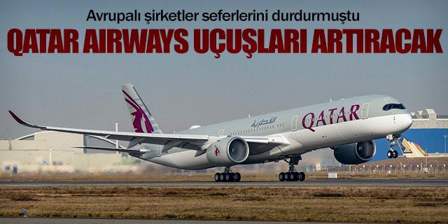Qatar Airways yaptırımlara rağmen seferleri artıracak