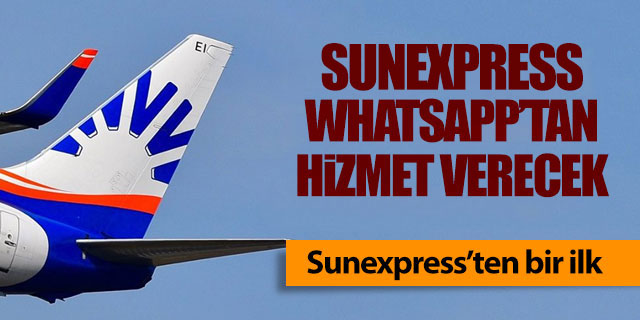 Sunexpress'ten bir ilk