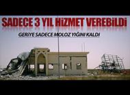 ULUSLARARASI HAVALİMANI BU HALE GELDİ