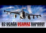 ABD F-16'LARIN UÇUŞLARINI DURDURDU!