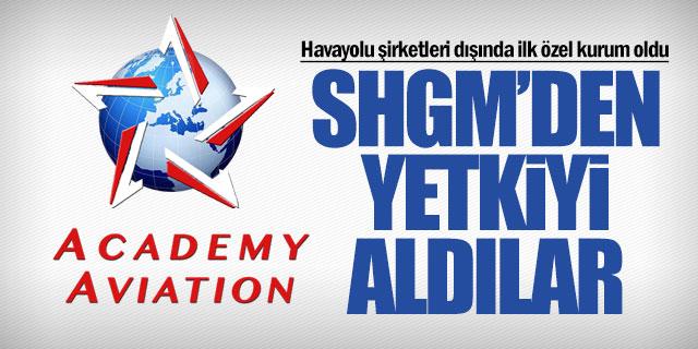 Akademi Havacılık SHGM'den yetki belgesini aldı