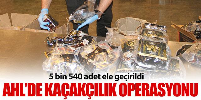 Atatürk Havalimanı'nda kaçakçılık operasyonu