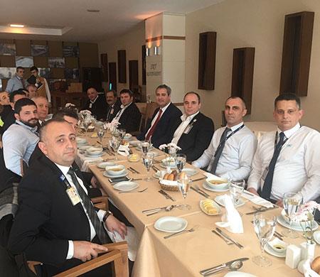 Ekipler Atatürk Havalimanı'nda bir araya geldi