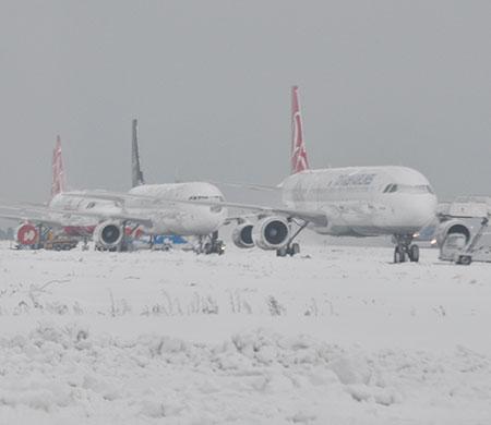Atatürk Havalimanı'nda son durum böyle görüntülendi