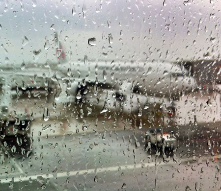 Hava muhalefeti uçak seferlerini etkiledi