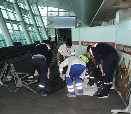 Atatürk Havalimanı'nda hayatını kaybetti