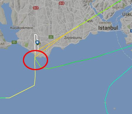 Atatürk Havalimanı'na faciadan dönüldü