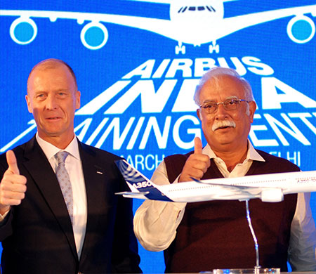 Airbus Hindistan'da ilk adımı attı