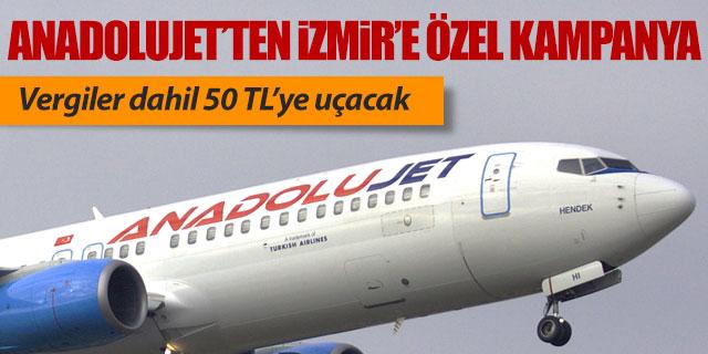Anadolujet'ten Sabiha Gökçen-İzmir hattına özel kampanya
