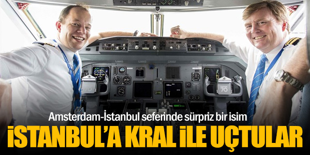 İstanbul'a Kral Alexander ile uçtular