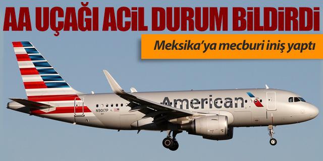 American Airlines uçağı acil durum bildirdi